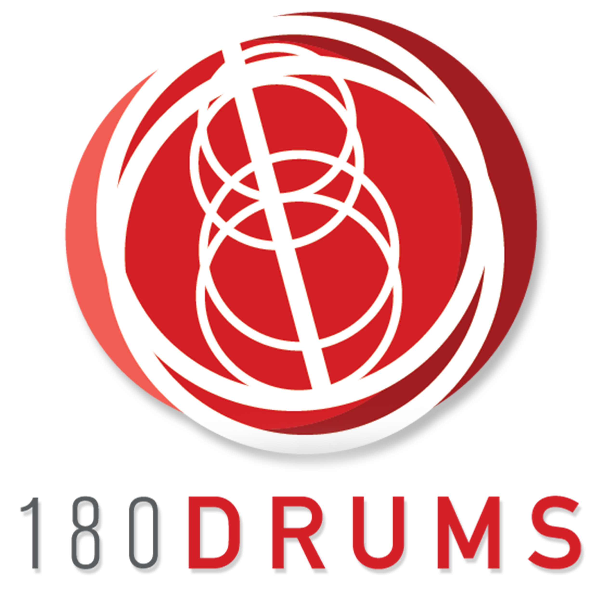 180 drums logo