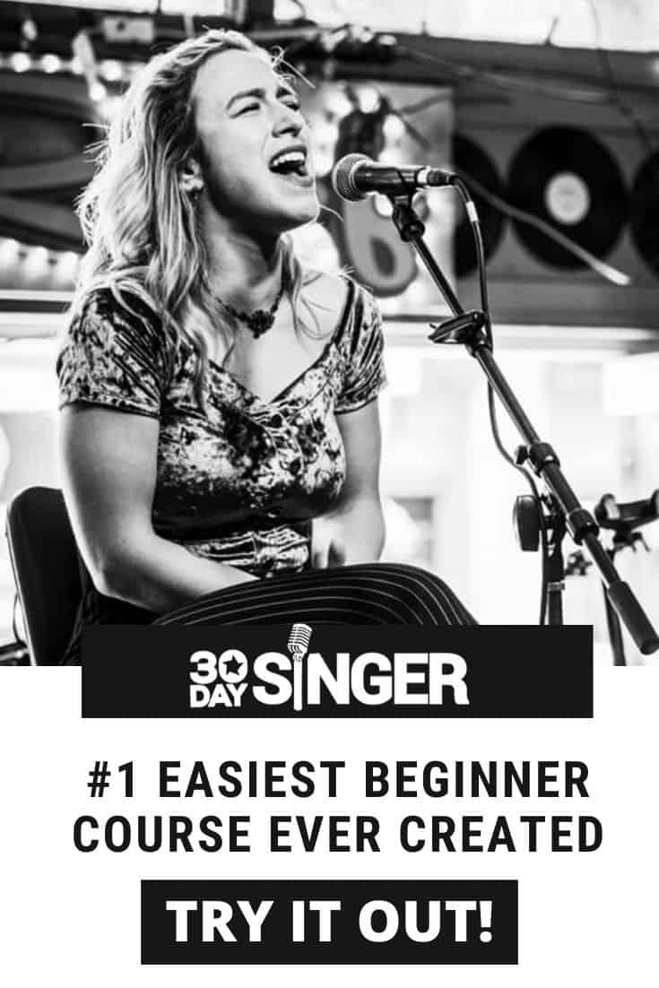 30 Day Singer online singing lessons.