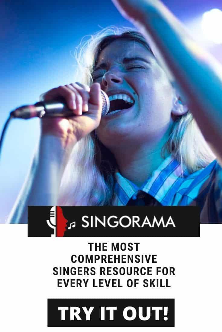 Singorama online singing lessons.