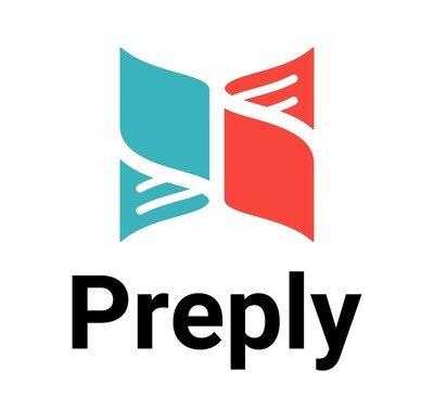 Preply logo.