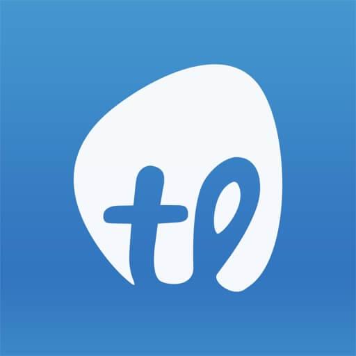 Takelessons logo.