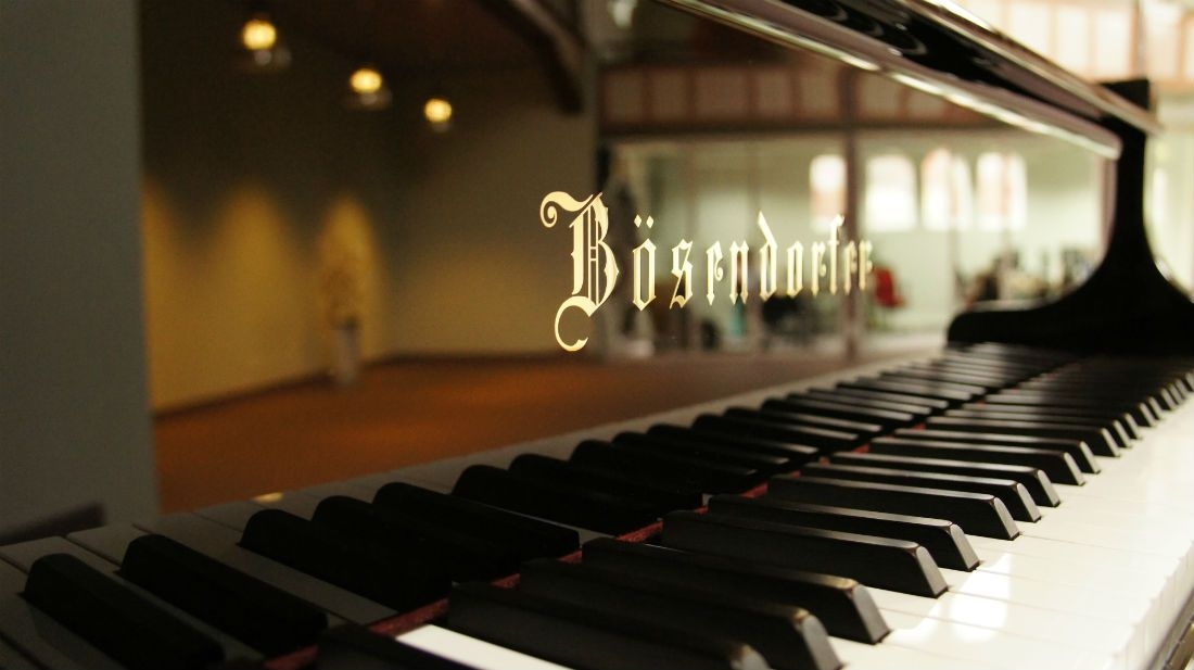 Bosendorfer piano, one of the best piano brands of all time.
