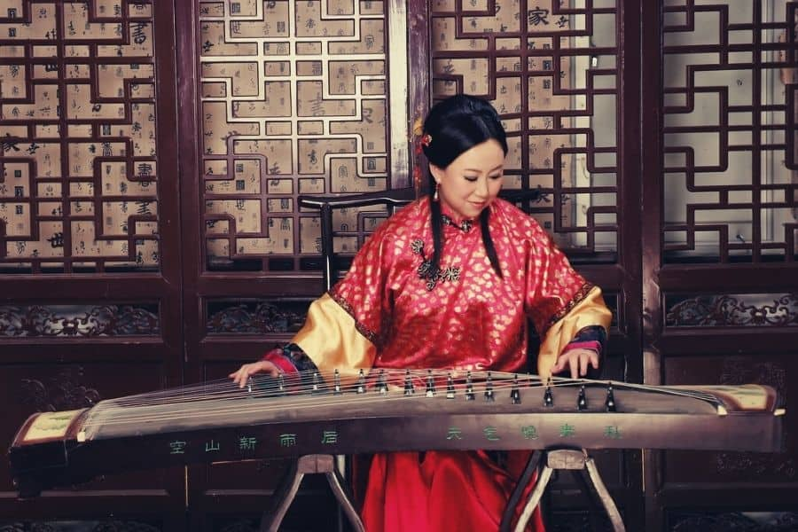 Chinese string instrument
