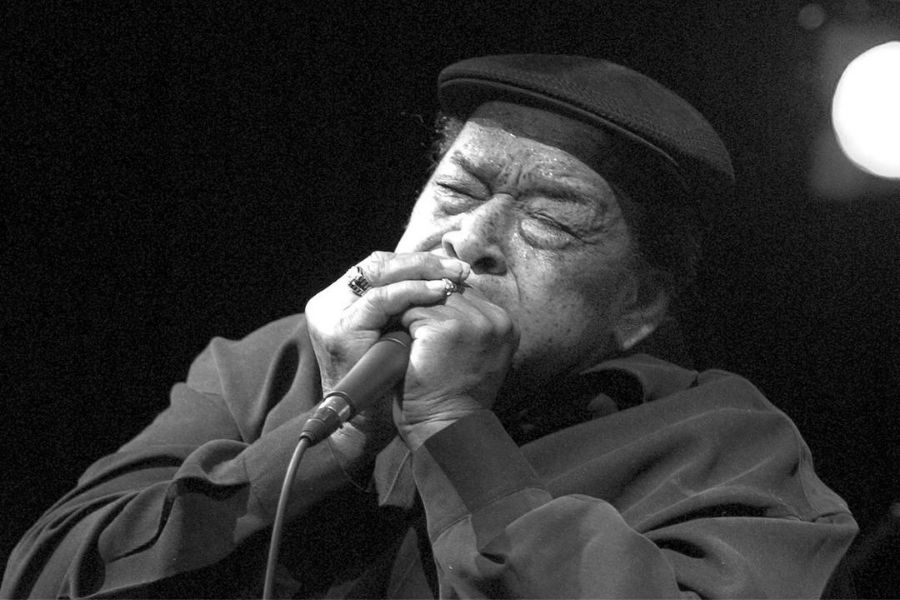 One of the best harmonica players, James Cotton