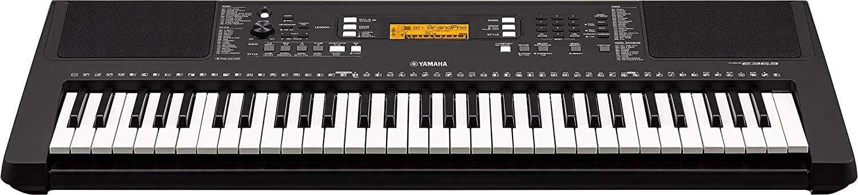 YAMAHA PSR-E363 61-Key Touch Sensitive Portable Keyboard.