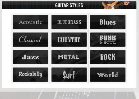 guitar tricks learning styles.