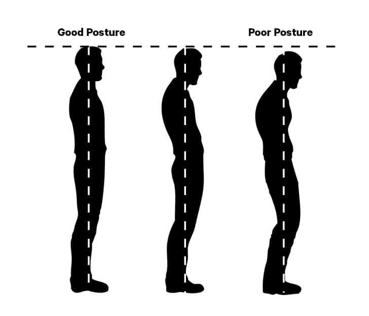 Good singing posture.