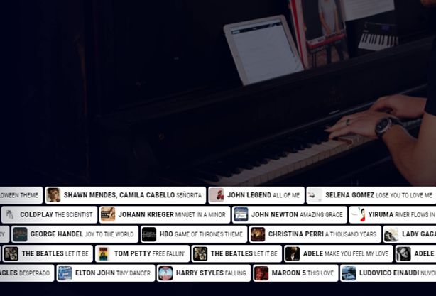 Pianote songs.