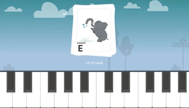 Piano Street game.