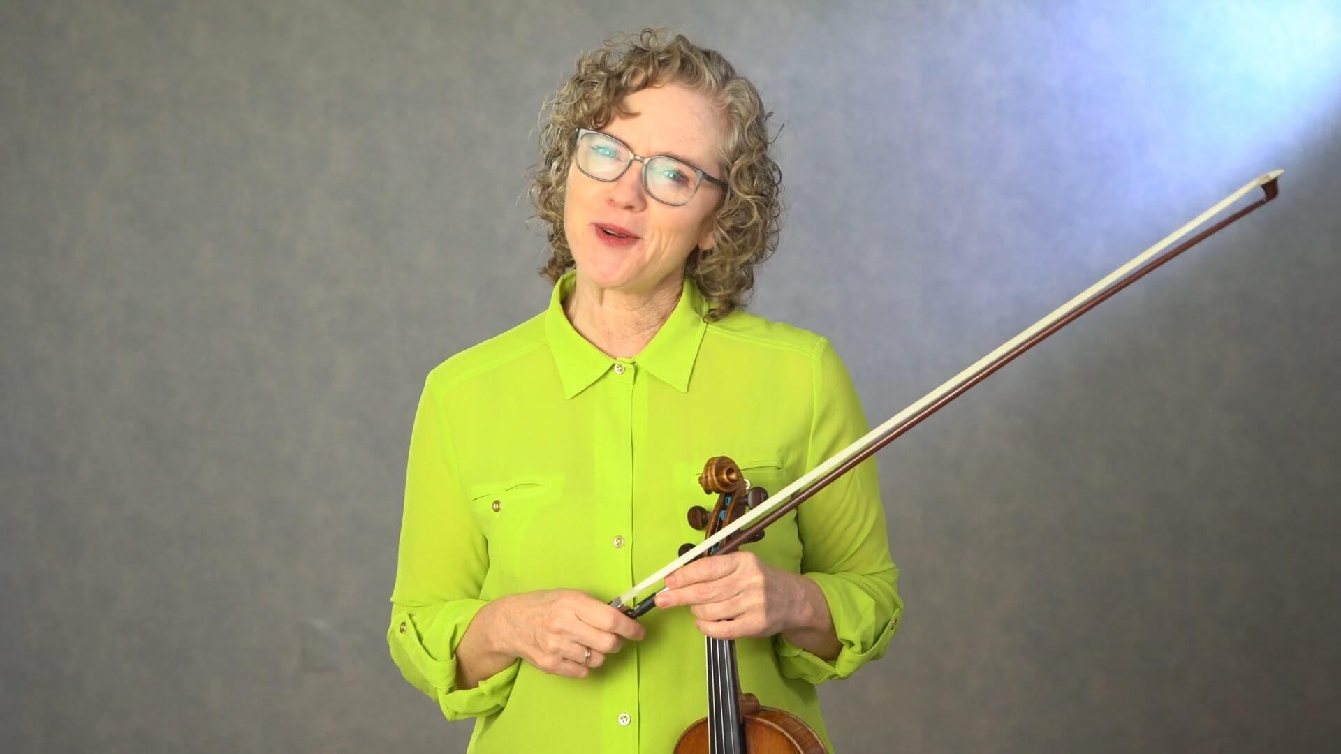 Beth Blackerby Violin Lab video