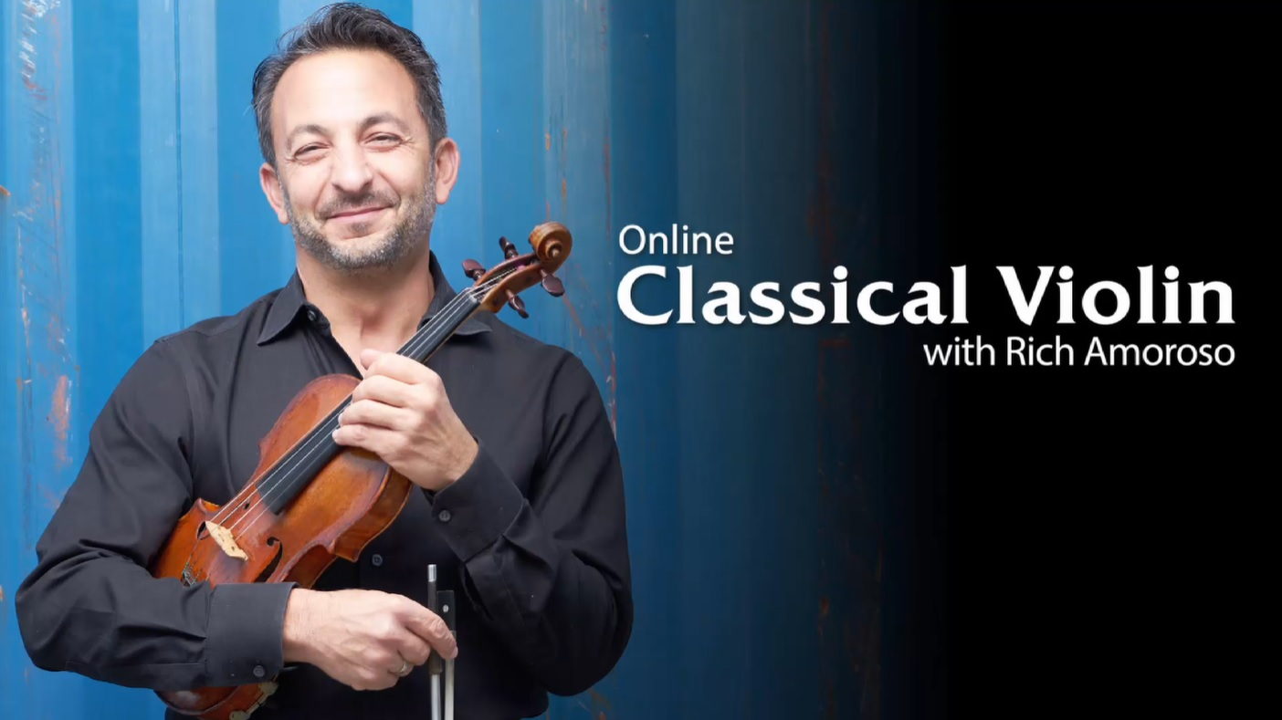 ArtistWorks Classical violin online course with Rich Amoroso