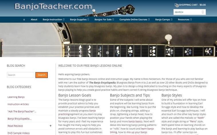 Banjo Teacher learn to play banjo online