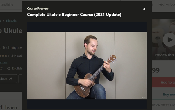 Udemy Complete Ukulele Beginner Course (2021 Update)
