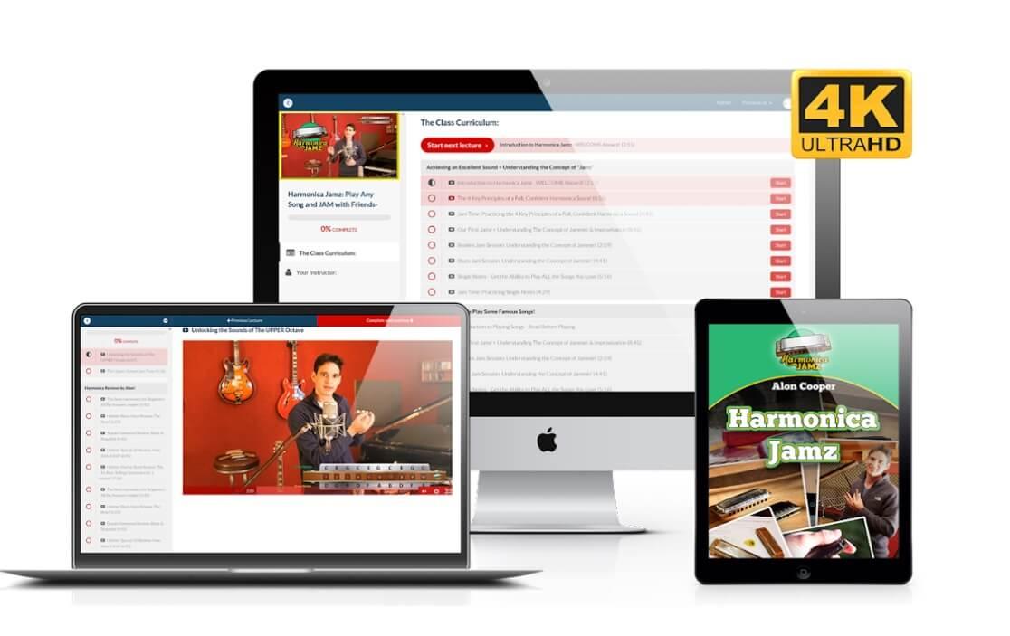Harmonica Jamz online classes for jamming