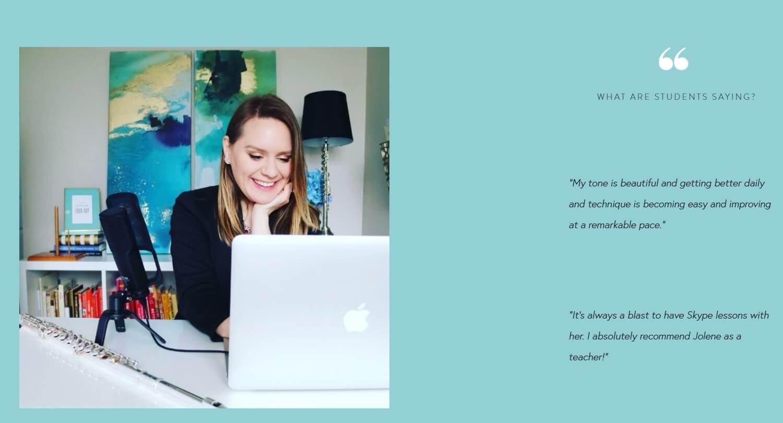 Jolene Madewell private online flute lessons