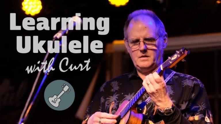 Learning Ukulele with Curt online