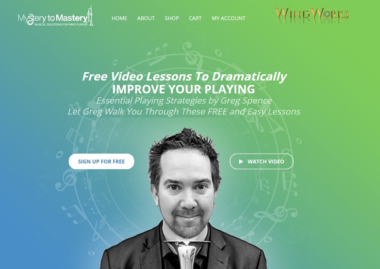 Mystery to Mastery online trumpet learning platform