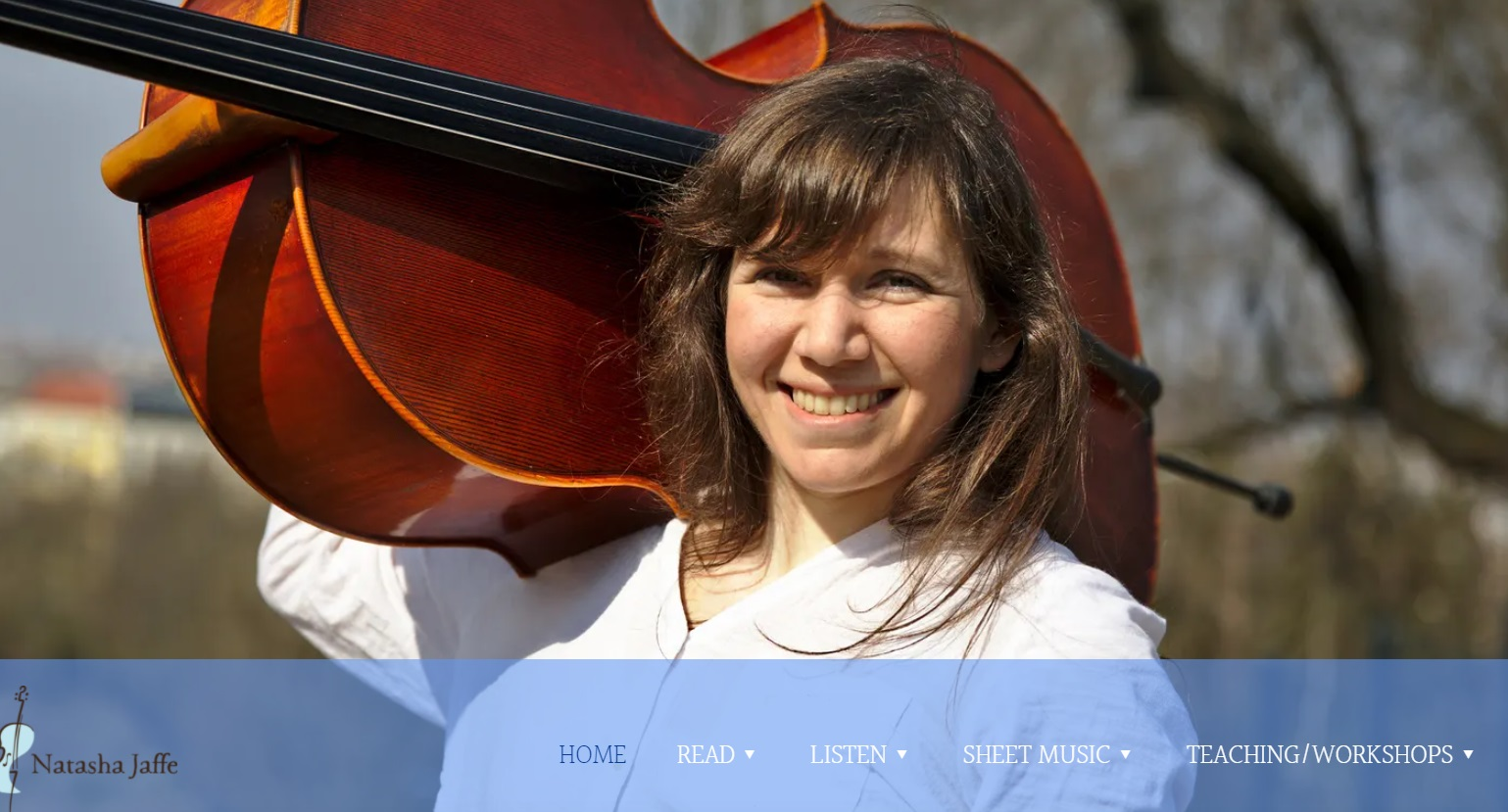 Private online lessons with a Berlin-based cellist Natasha Jaffe