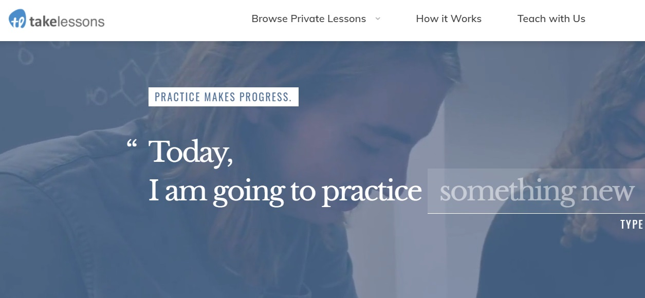 Takelessons website with private virtual trumpet classes
