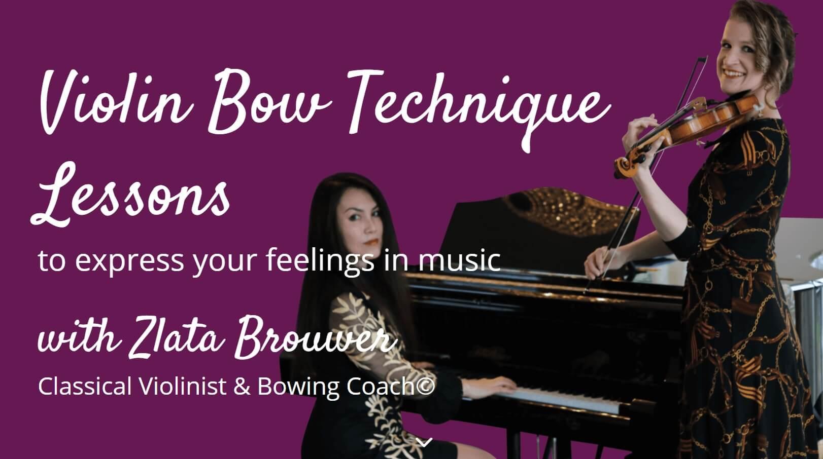 Violin Lounge with Zlata Brouwer